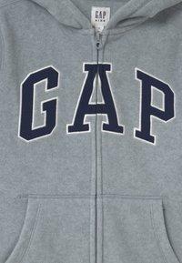 GAP - BOY ARCH HOOD - Fleecejacke - light heather grey - 2