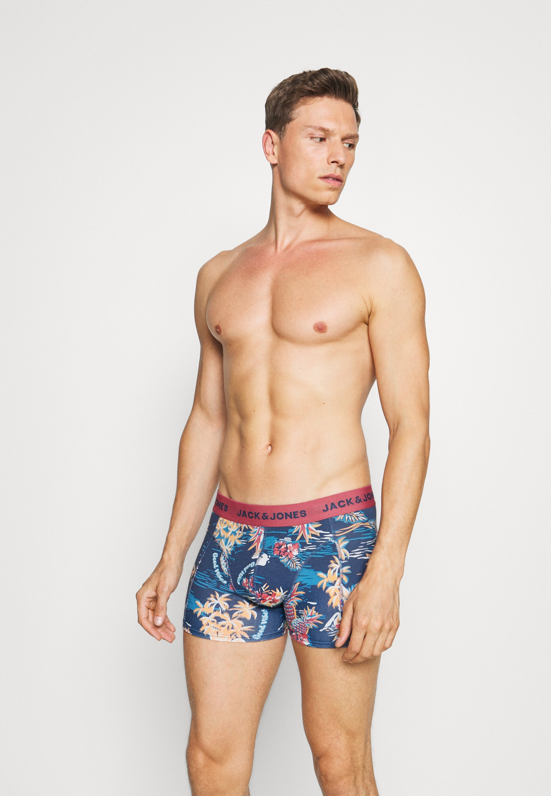Uomo JACTROPIC PINEAPPLE TRUNKS 3 PACK - Culotte