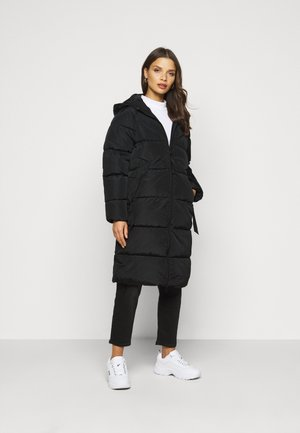 ONLMONICA PLAIN LONG PUFFER COAT - Vinterfrakker - black
