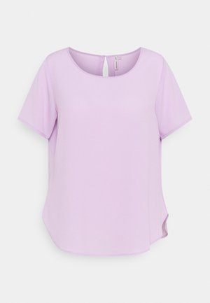 CARLUXMILA SOLID - Basic T-shirt - orchid bloom