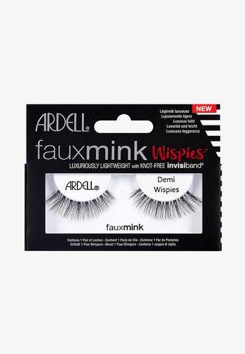 FAUX MINK DEMI WISPIES - False eyelashes - -