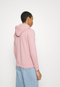 Alpha Industries - NEW BASIC HOODY PRINT - Sweatshirt - silver/pink - 2