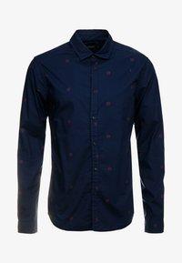 Scotch & Soda - BLAUW LIGHT WEIGHT SHIRT WITH PRINTS - Overhemd - combo - 3