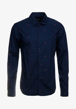 BLAUW LIGHT WEIGHT SHIRT WITH PRINTS - Overhemd - combo
