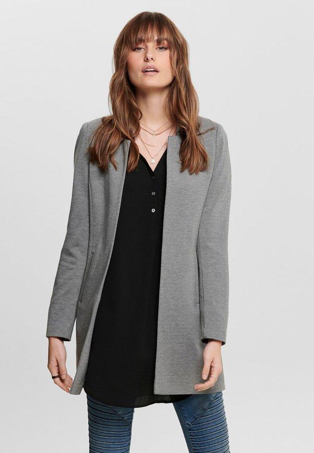 ONLPOPTRASH SOHO - Krátký kabát - grey melange