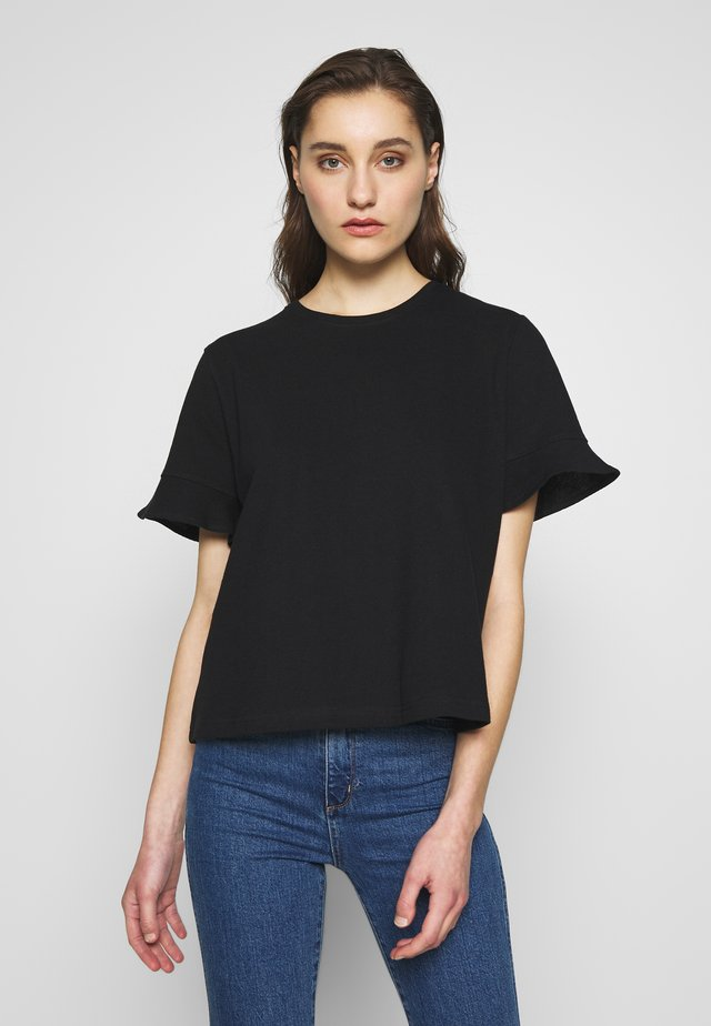 KATTI - Basic T-shirt - black