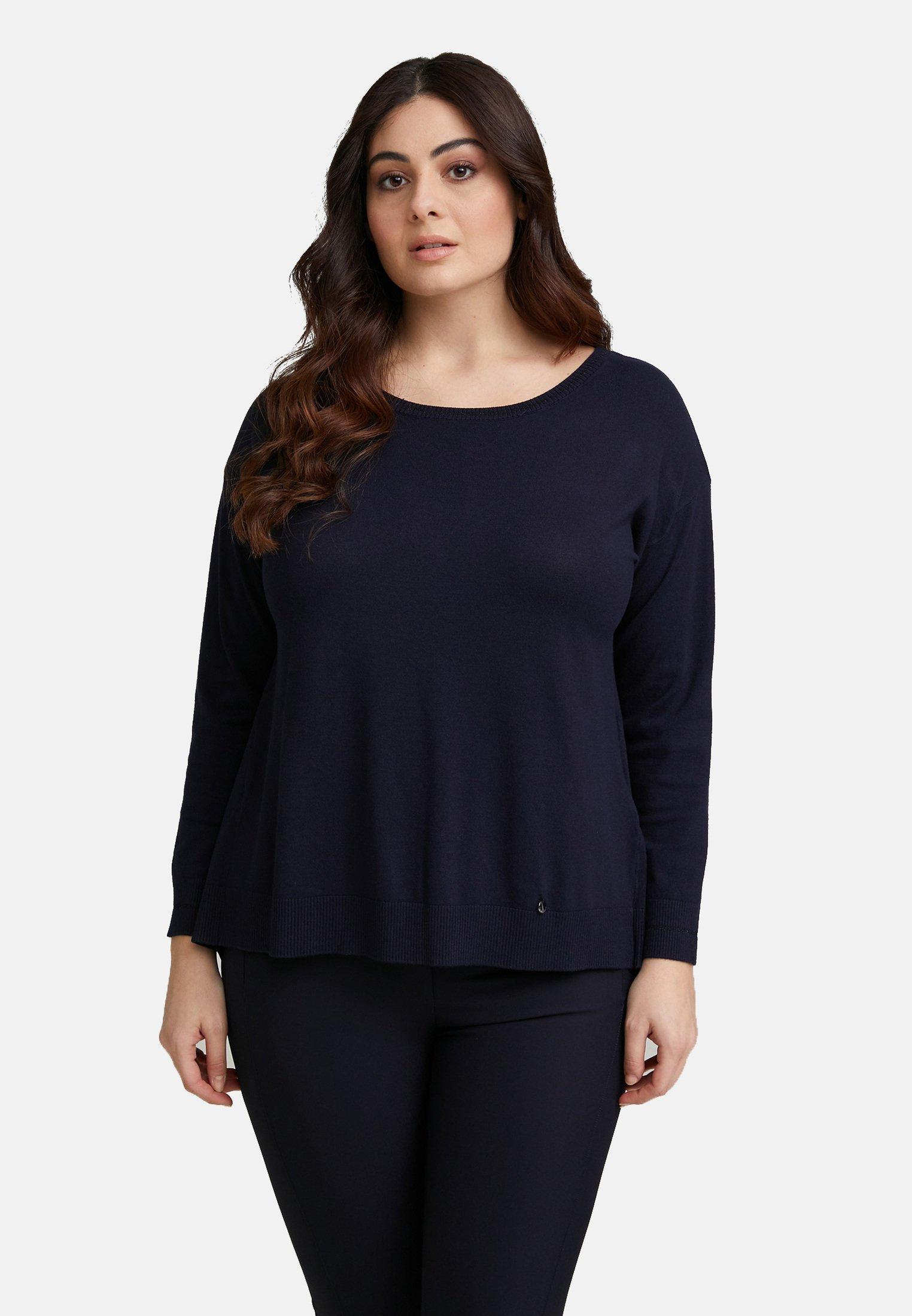 Damen MIT GEPUNKTETEM EINSATZ IM RÜCKENTEIL - Sweatshirt