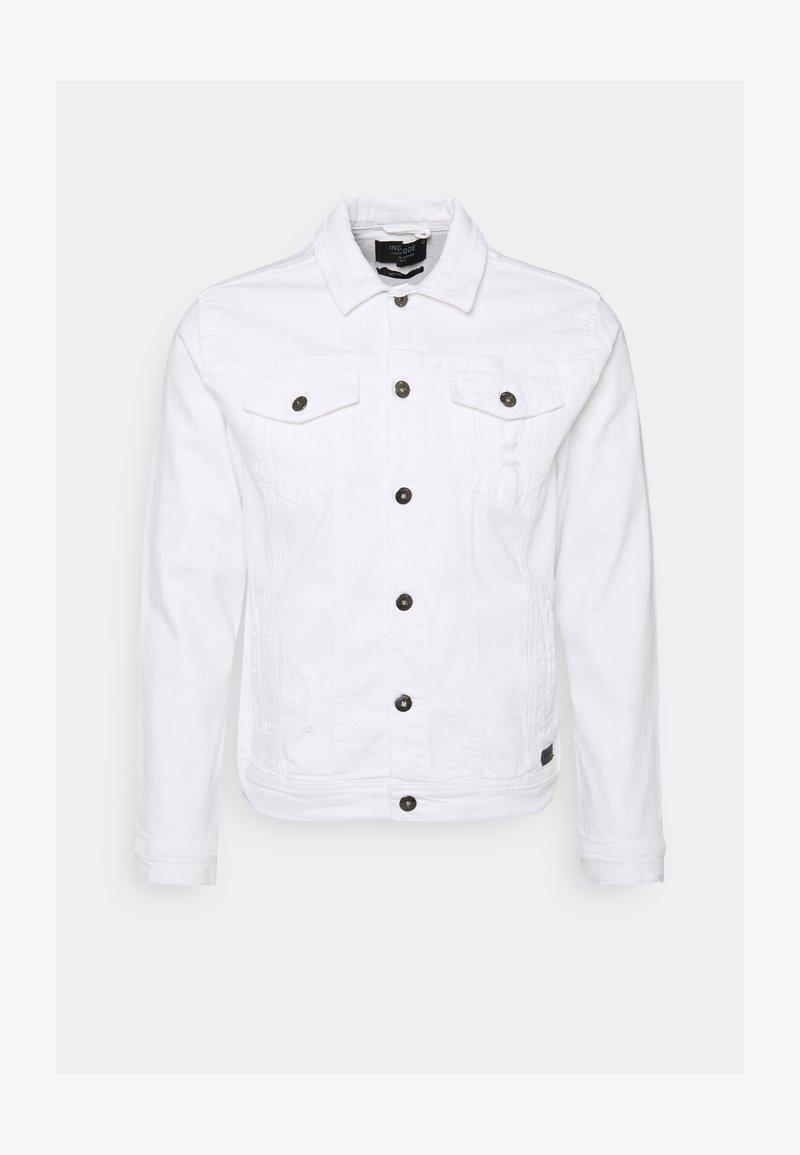 INDICODE JEANS - GLENALVON - Denim jacket - offwhite