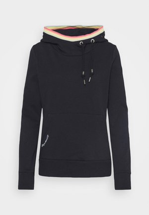 ERMELL - Sweat à capuche - navy