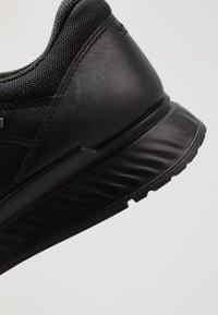 ECCO - EXOSTRIDE - Walking trainers - black - 5