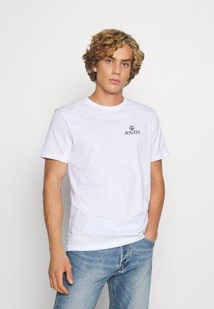 UNISEX TEE  - T-shirt med print - white