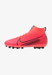 Nike Performance - MERCURIAL 7 ACADEMY AG - Moulded stud football boots - laser crimson/black - 1