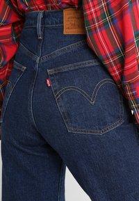 Levi's® - RIBCAGE STRAIGHT ANKLE - Straight leg jeans - blue denim - 6