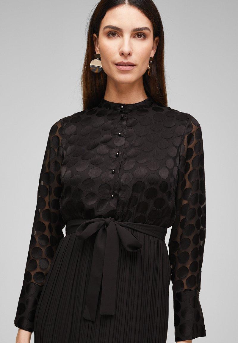 cocktailkleid/festliches kleid - black dots