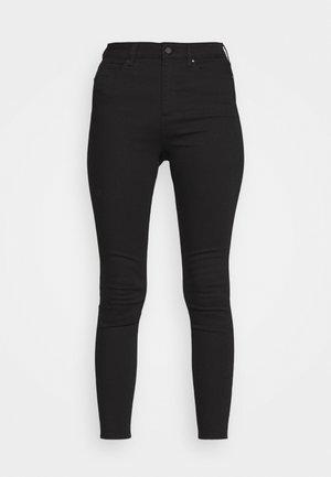 BELLA HIGH RISE SCULPTING  - Jeansy Skinny Fit - black