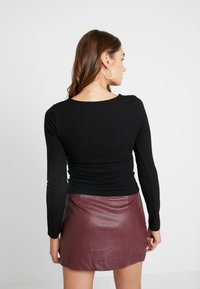 Nly by Nelly - I AM HERE - Topper langermet - black - 2