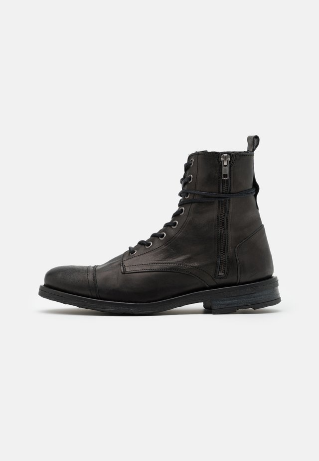 STIGMA BOOT - Bottines à lacets - black