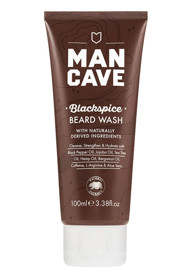Man Cave - BLACKSPICE BEARD WASH - Beard shampoo - -