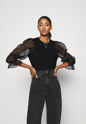 OBJELIN  - Print T-shirt - black