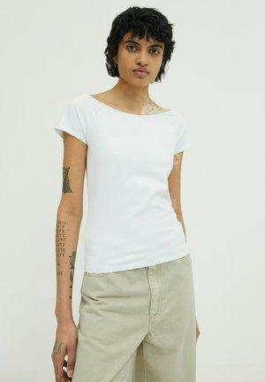 REAGAN - Basic T-shirt - weiß