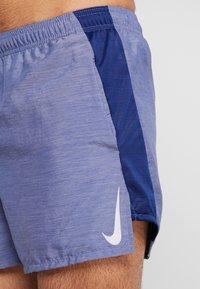 Nike Performance - CHALLENGER SHORT - Pantalón corto de deporte - blue void/heather/silver - 3