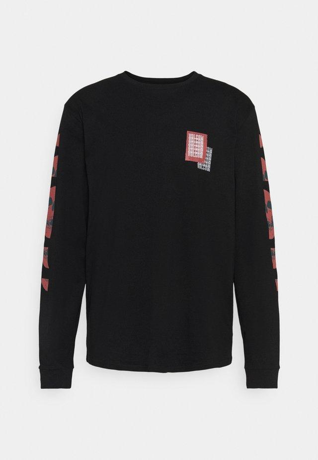 CONCUSSION - Camiseta estampada - black