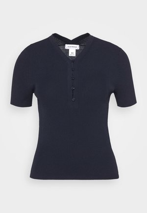 ZORLEY - Basic T-shirt - navy