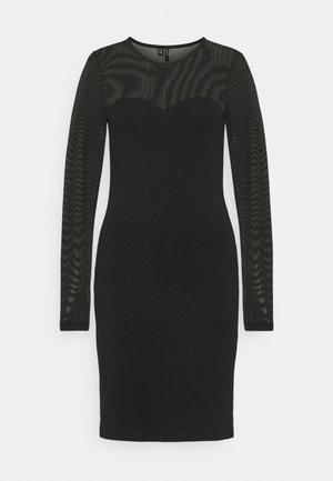 VMKAYLY MESH DRESS - Kotelomekko - black