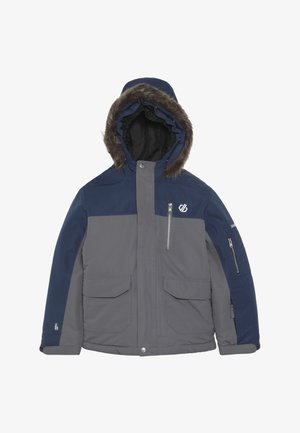 FURTIVE JACKET - Lyžařská bunda - grey/dark blue