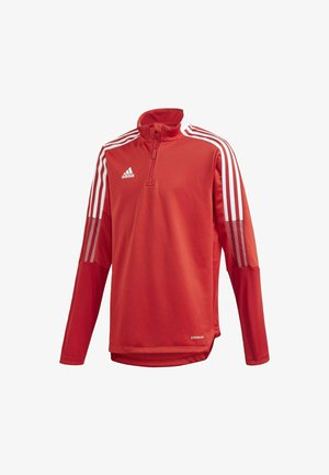 TIRO 21 TRAINING TOP - Sports shirt - red