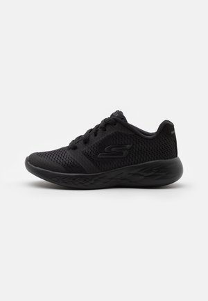 GO RUN 600 ZEETON UNISEX - Neutral running shoes - black