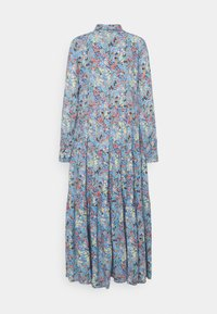 YAS - YASSANTOS LONG DRESS - Maxi dress - dusk blue/santos - 1
