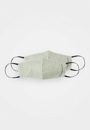 PATTERN FASHION MASKS UNISEX 2PACK - Stoffen mondkapje - offwhite/green