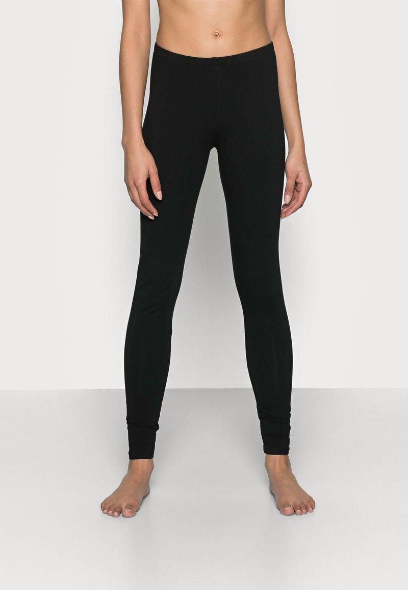 Anna Field - 2PP JERSEY LEGGING - Leggings - Stockings - black