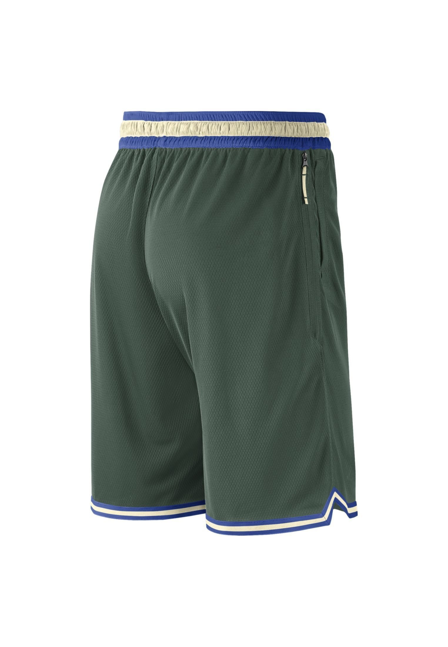 Nike Performance NBA MILWAUKEE BUCKS DNA SHORT - Short de sport - fir/game royal/flat opal/white