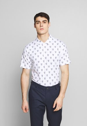 LUX SKULL - Polo shirt - bright white