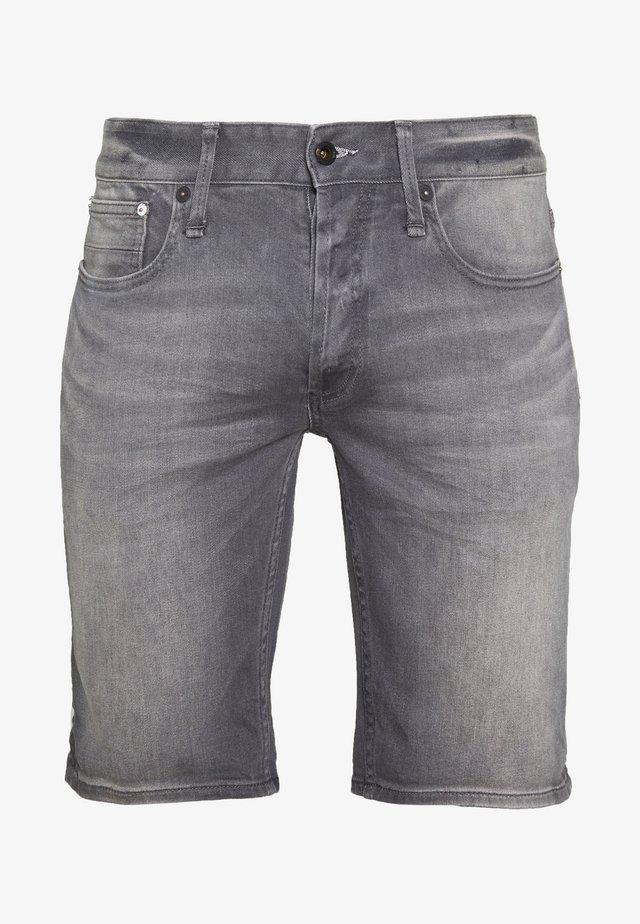 RAZOR - Jeansshort - grey