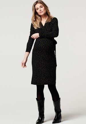 BRADING - Jersey dress - black