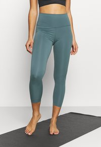 Nike Performance - THE YOGA 7/8 - Collants - hasta/dark teal green - 0