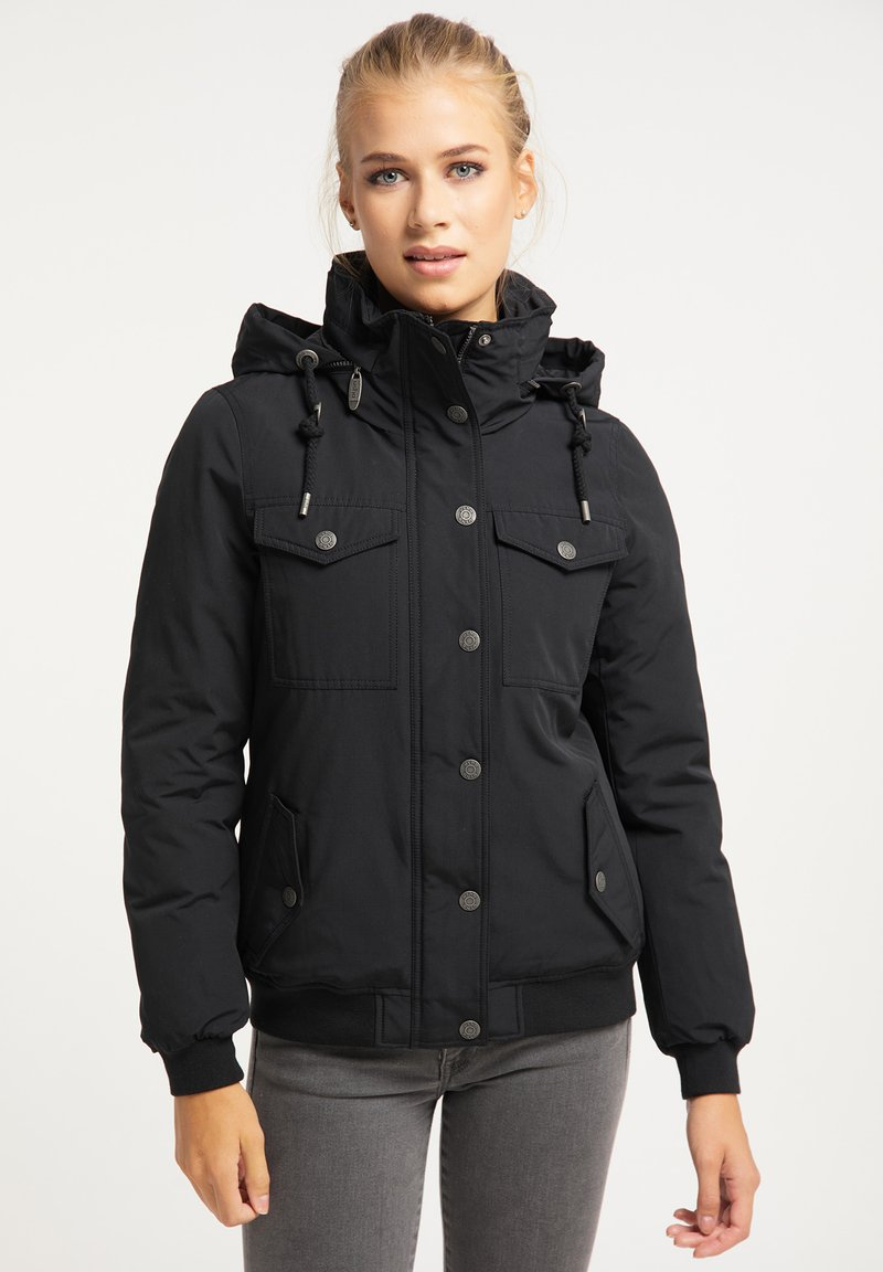 usha - Winter jacket - schwarz