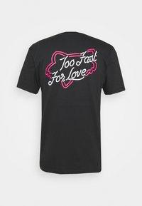 Fox Racing - FAST LANE POCKET TEE - T-Shirt print - black - 1