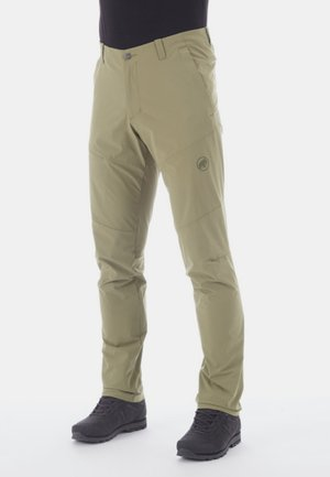 RUNBOLD PANTS  - Spodnie materiałowe - olive