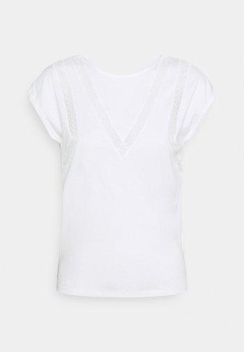DIRK - Print T-shirt - offwhite