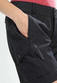 Vaude - TREMALZINI SHORTS - Sports shorts - black - 4