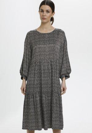 ILAGZ  - Day dress - moonbeam square dot