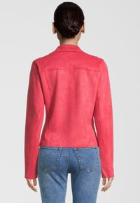 Rino&Pelle - Faux leather jacket - teaberry - 1