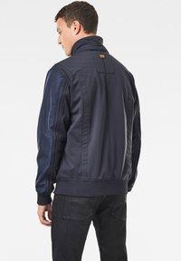 G-Star - SOFTSHELL BOMBER - Bomberjacks - mazarine blue/dk black - 2