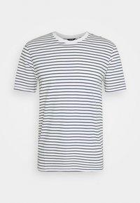 Only & Sons - ONSMICK LIFE STRIPE TEE - T-shirt imprimé - cloud dancer - 4