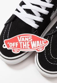 Vans - SK8 UNISEX - Sneaker high - black/true white - 6