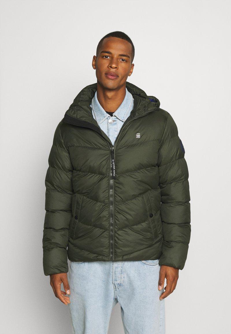 G-Star - WHISTLER PUFFER - Winter jacket - asfalt